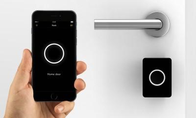 Nuki Smartphone-App und Keyturner
