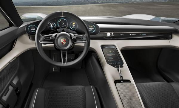 Porsche Mission E Cockpit