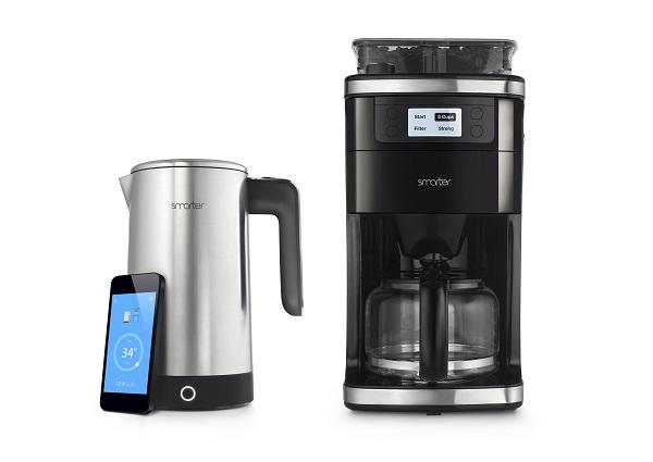 Vernetzte Kaffeemaschine: Smarter iKettle 2.0 und Coffee Machine Wifi