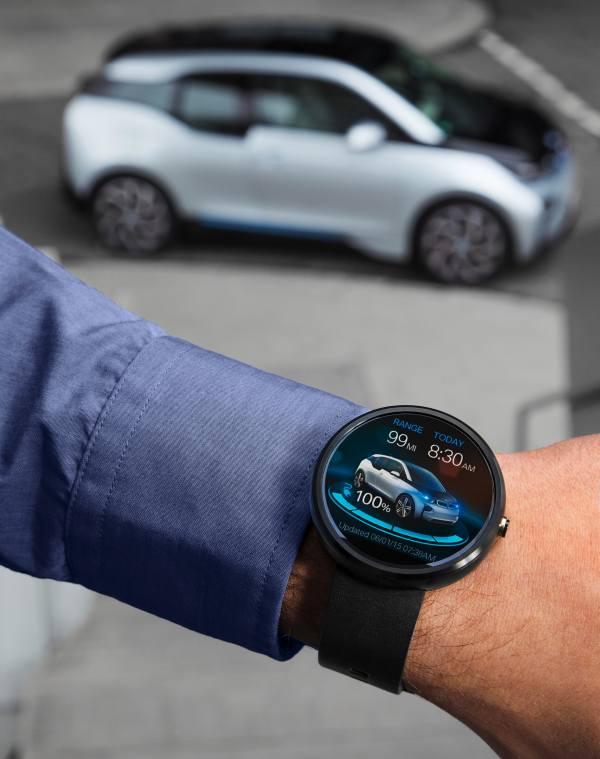 Smartwatch und Auto: BMW Connected Car