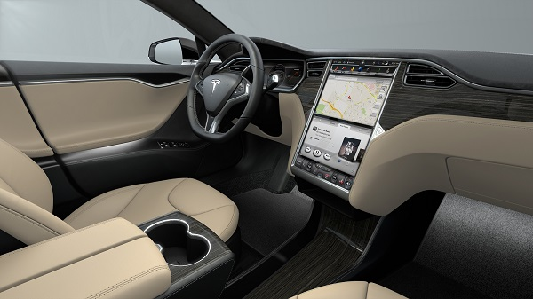 Tesla und Spotify: Tesla Model S Spotify Streaming Smart Car