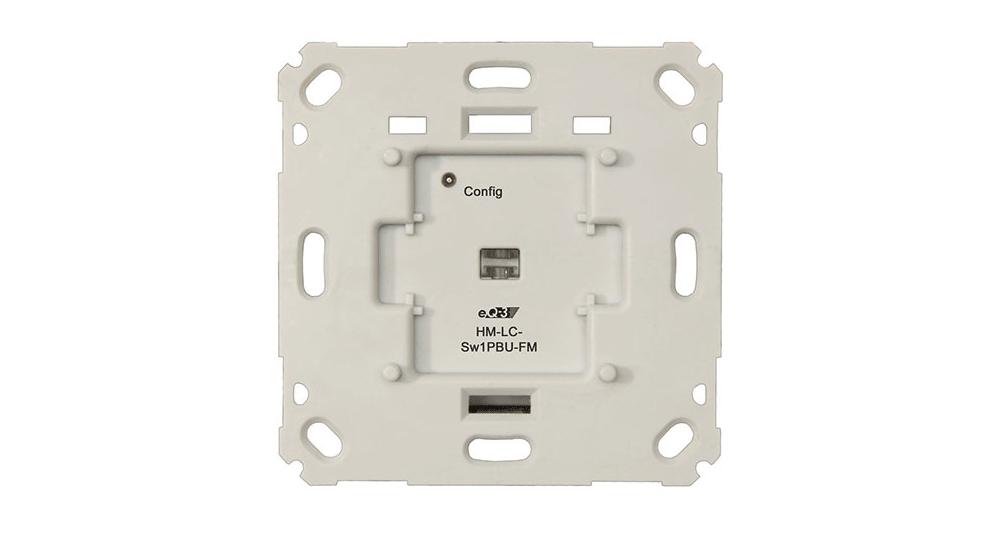 Intelligente Lichtsteuerung: eQ-3 HomeMatic Schaltaktor HM-LC-Sw1PBU-FM