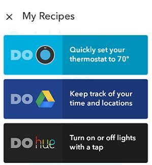 IFTTT: App auf Smartphone