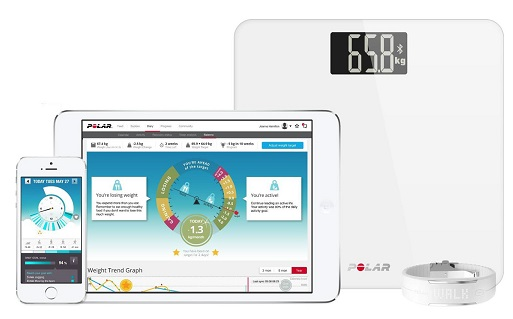 Polar Balance Smart Scale Waage Gewicht Fitness