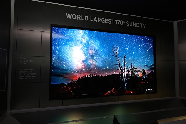 Samsung SUHD TV CES 2016