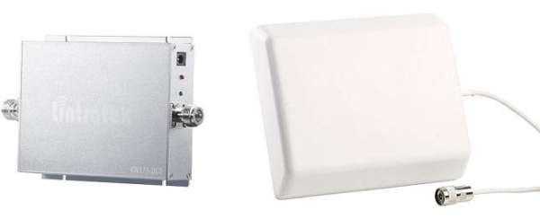 Callstel GSM-Rpeater Antenne und Signalbox