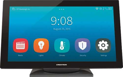 Crestron Touchpanel TS1542 Smart Home