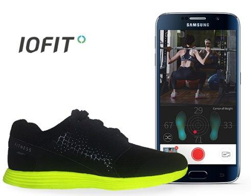 Samsung Salted Venture IOFIT Smart Shoe MWC2016