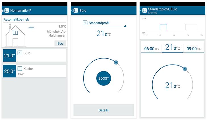 eQ-3 Homematic IP: App