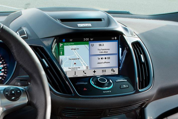 Display: Ford Sync 3 System