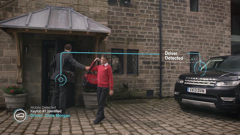 Vor Fahrtantrit werden wichtige Infos zum Verkehrsweg vom Handy zum Fahrzeug gesendet.