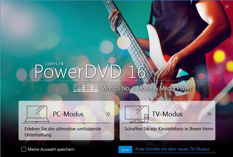 Cyberlink Power DVD 16 Launcher