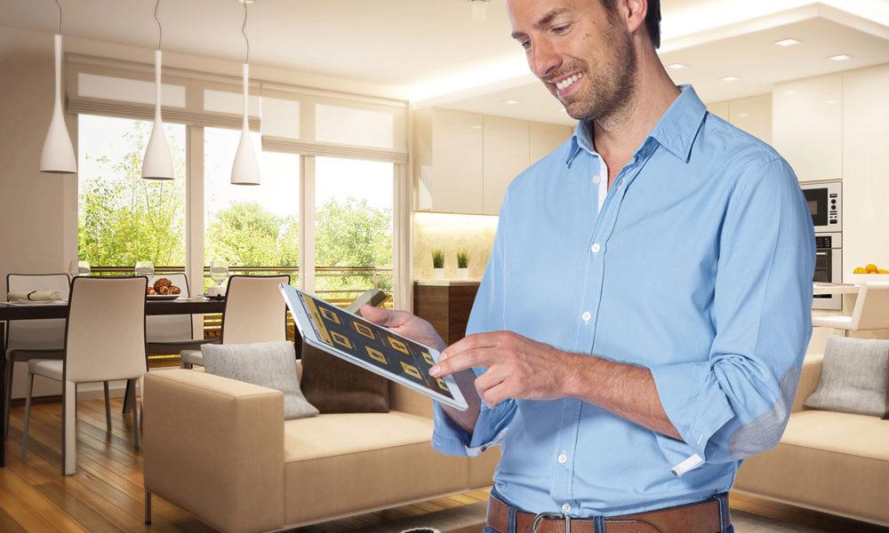 das moderne vernetzte heim klima heizung steuerungen vernetzte welt. Black Bedroom Furniture Sets. Home Design Ideas