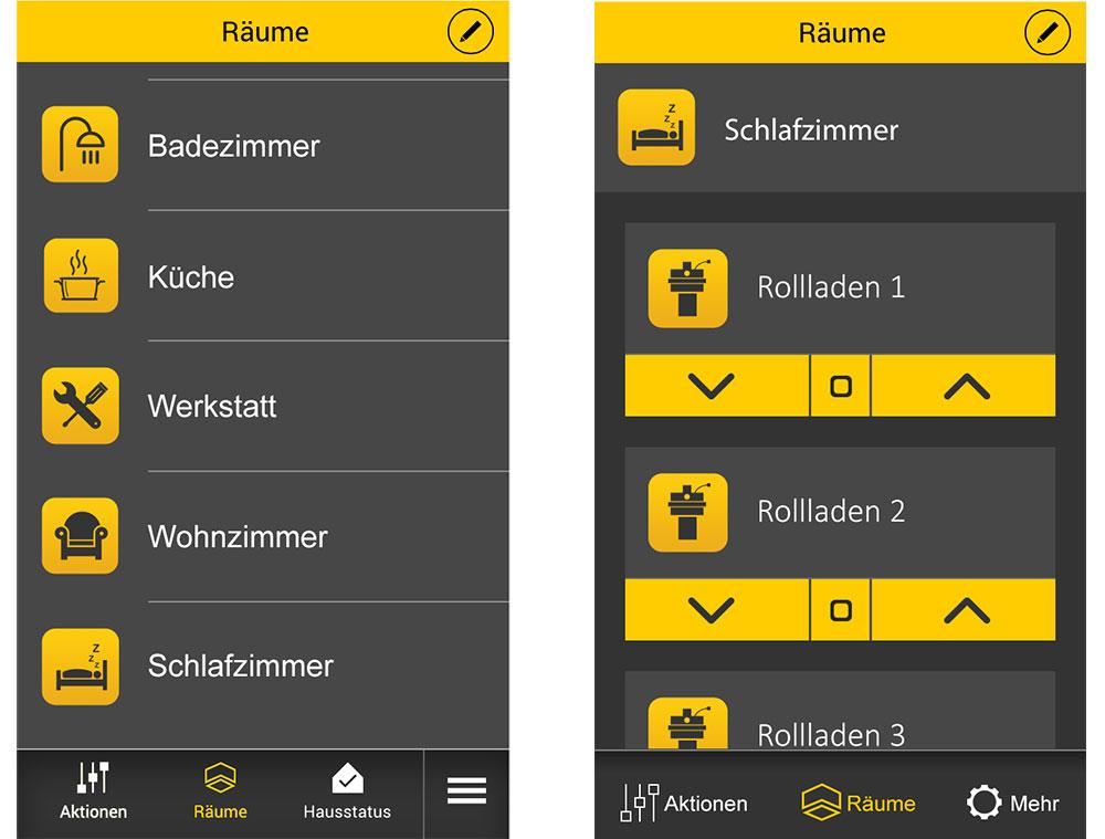 Schellenberg SmartHome: App