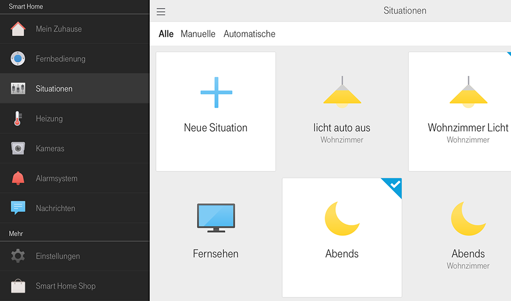 Telekom Smart Home App: Osram Lightify einbinden