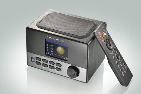 VR-Radio: WLAN Internetradio Box mit Wecker und Ladestation