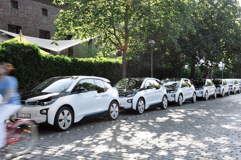 <strong>Vor allem der i3 als reines E-Mobil dürfte in Kalifornien ein beliebtes Car-Pooling-Model werden.</strong>