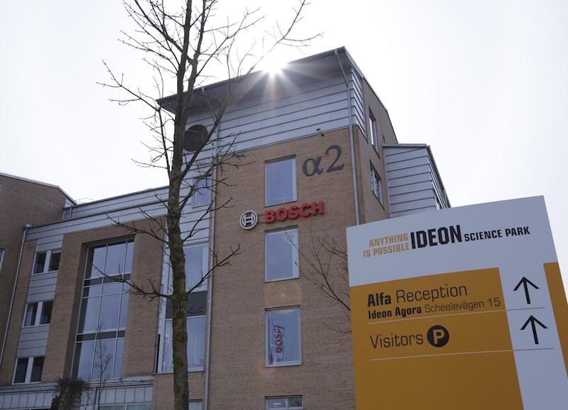 Entwicklungszentrumin Schweden: 50 Bosch-Experten sind in Lund an Bord.