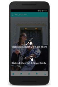 Nero 2-Finger-Zomm App