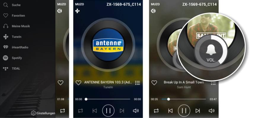 WLAN-Bluetooth-Lautsprecher: Auvisio