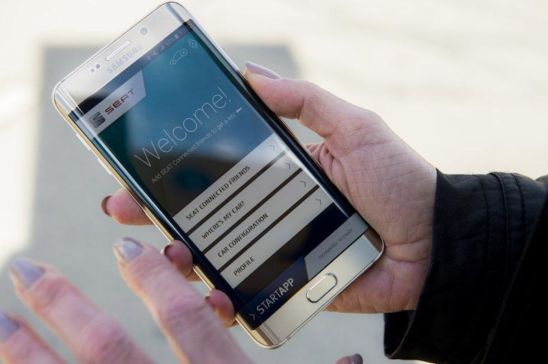 Seat Connectivity: Für SEAT beginnt mit der Kooperation mit SAP und Samsung eine neue Zeitrechnung. Die Spanier entwicklen derzeit eine App mit Fingerabdruck-Kennung.