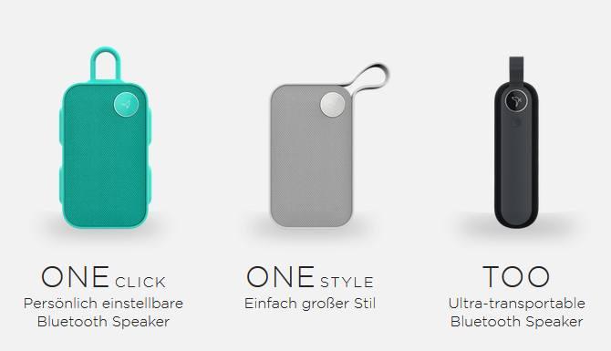 Tragbarer Bluetooth-Lautsprecher für guten Outdoor-Klang