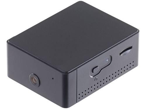 Die Kompakte Bauweise der Überwachungskamera von Visortech lässt einen flexiblen EInsatz zu (Bild: Pearl)