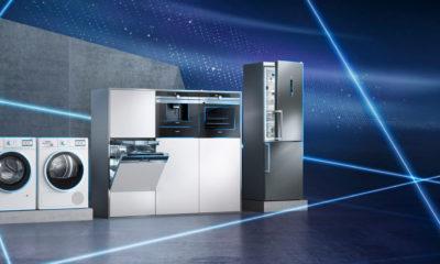 Neue digitale Hausgeräte von Siemens