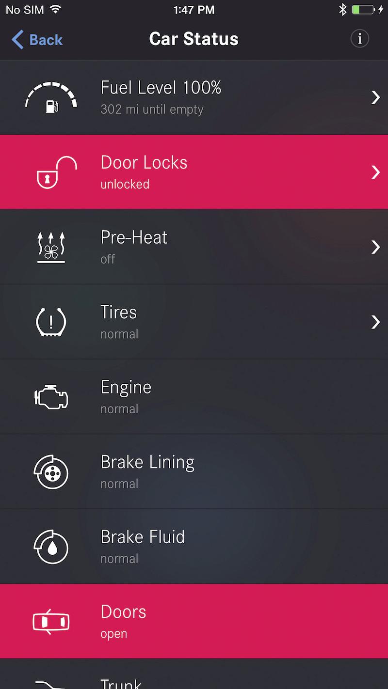 Connect Me: Kunden haben von überall und zu jederzeit Zugriff auf ihr Fahrzeug und können beispielsweise ihre Standheizung aus der Ferne steuern oder Türen öffnen und schließen.