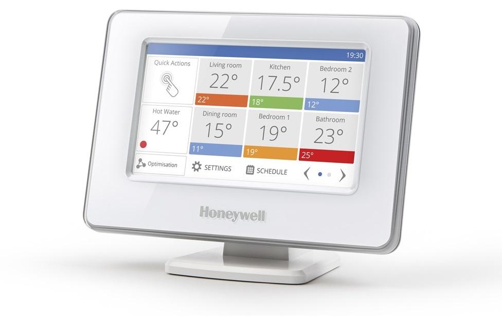 Heizsystem Honeywell evohome mit integrierter Wi-Fi Schnittstelle