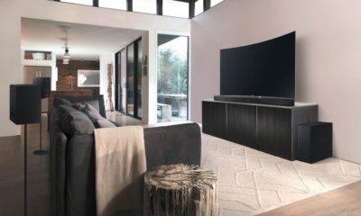 Samsung Kinosound mit HW-K950 im Wohnzimmer