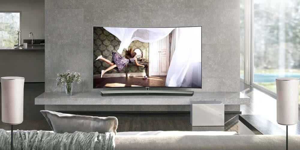 heimkino soundsystem samsung hw 950 vernetzte welt. Black Bedroom Furniture Sets. Home Design Ideas