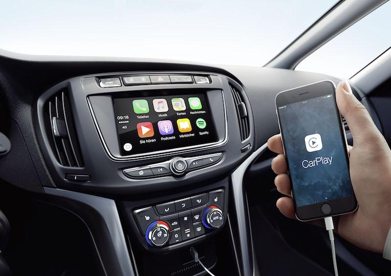 Über das Opel-OnStar System können bis zu sieben IOS und Android-Geräte gleichzeitig betrieben werden.