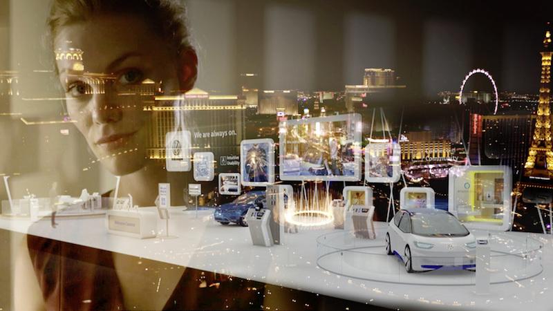 CES 2017 Vorschau: Volkswagen wird in Las Vegas eine ganze Palette an neuen Ideen präsentieren. Unter anderem eine Weiterentwicklung des Bedienfeldes aus dem Budd-e.