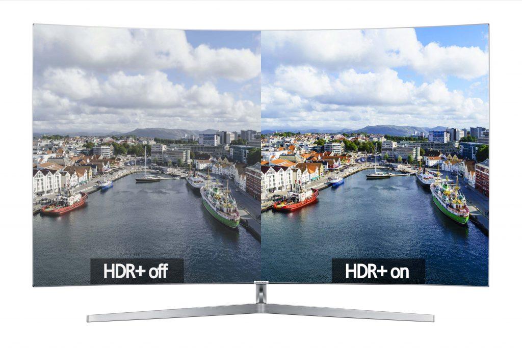 Samsung Quantum-Dot mit und ohne HDR