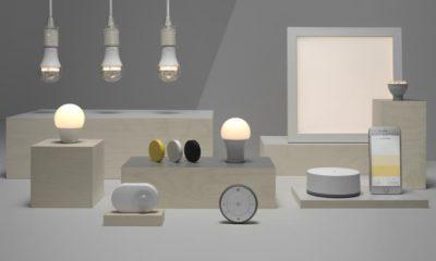 """Smart Home: IKEA Smart-Lighting Kollektion. Weiterer Text über ots und www.presseportal.de/nr/29291 / Die Verwendung dieses Bildes ist für redaktionelle Zwecke honorarfrei. Veröffentlichung bitte unter Quellenangabe: """"obs/IKEA Deutschland GmbH & Co. KG/Inter IKEA Systems B.V. 2017"""