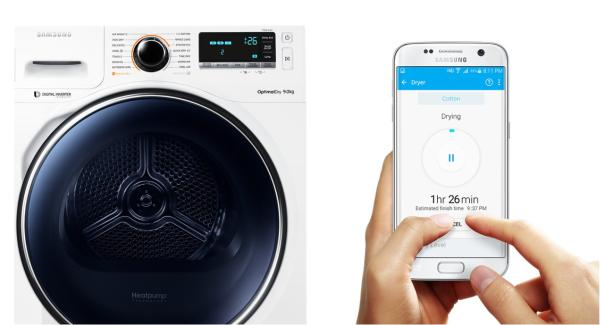 WLAN Trockner Samsung Trockner DV8000 Wifi-SmartControl