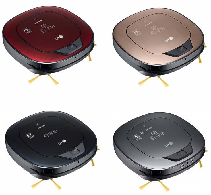 LG HomBot vernetze Staubsauger