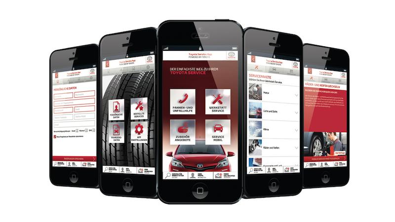 Praxistest Toyota C-HR Hybrid - an Apps für Toyota mangelt es sicher nicht. Die meisten beschäftigen sich mit Service- und Wartungsdiensten.