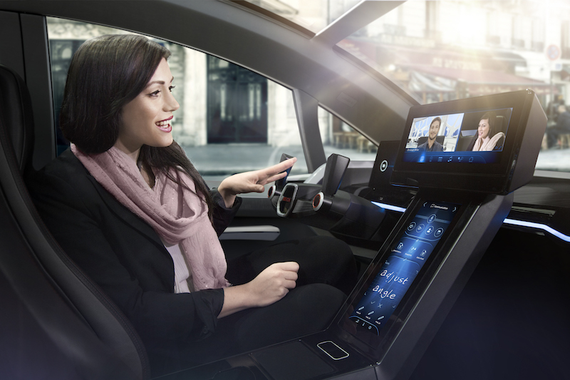 Bosch Connected: der Weg in die Zukunft. Bald werden das Auto und der mensch noch näher zusammen rücken.