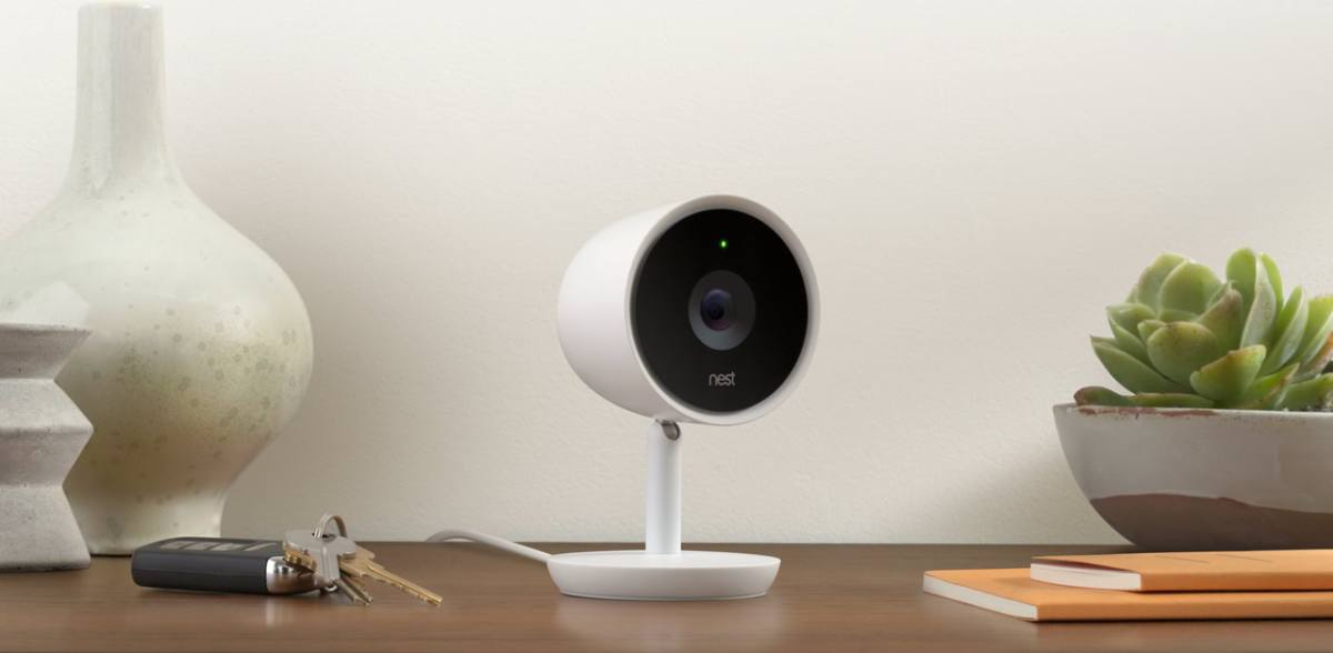 nest cam iq sicherheitskamera f r zu hause vernetzte welt. Black Bedroom Furniture Sets. Home Design Ideas