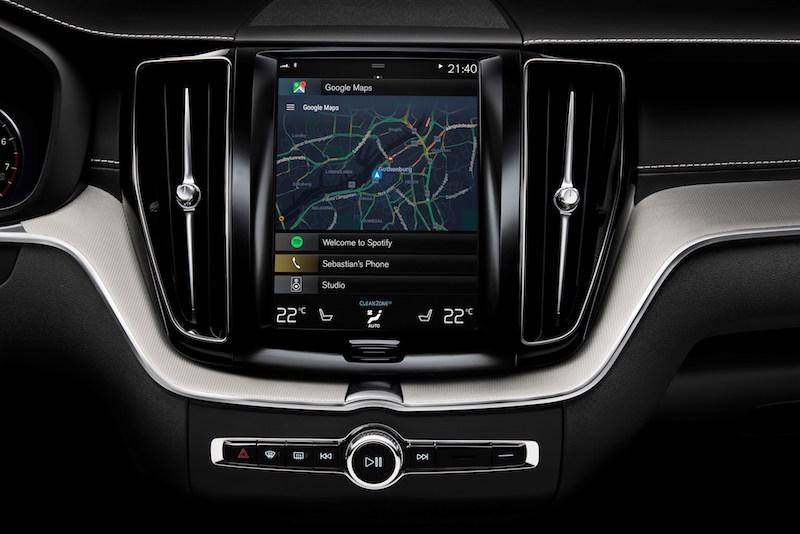 Volvo Connected - In Zukunft werden auf dem Monitor im Volvo noch mehr Google-Apps arbeiten.