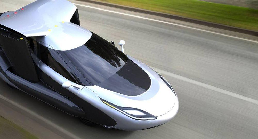 Volvo Fliegende Autos