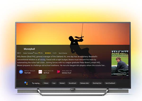 Philips SmartTV mit Google Assistant