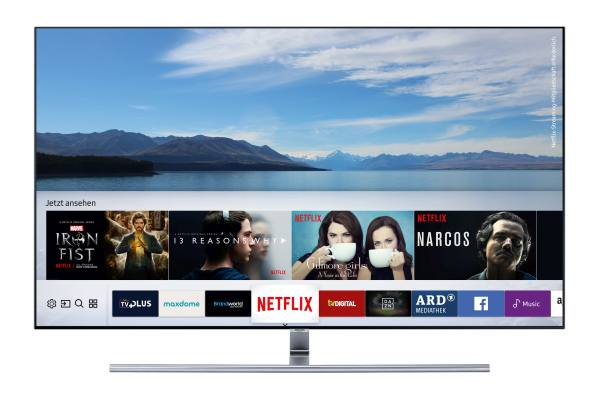 Samsung TV Plus QLED-TV-Q7F_Smart_Hub