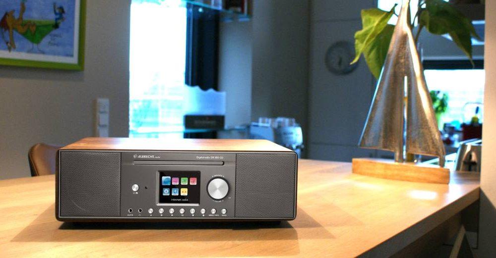 Vernetzes Hybridradio: Albrecht Radio DR 890 CD
