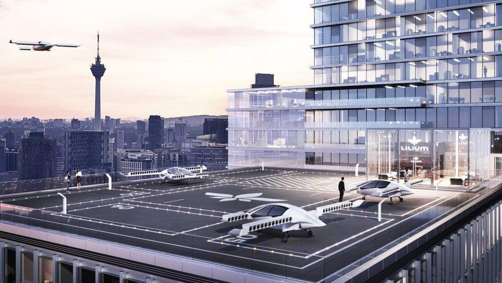 Lilium VTLO Jet: Fligende vernetzte Taxis