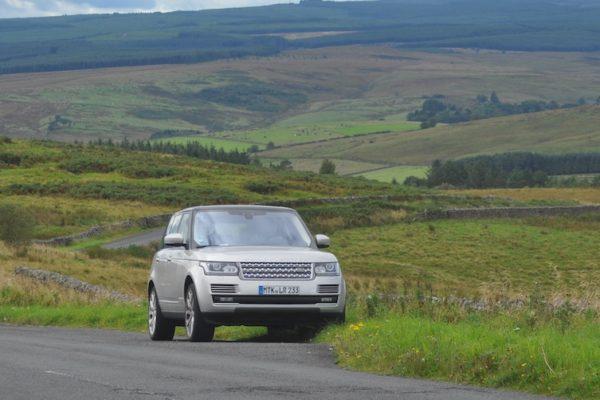 Praxischeck Range Rover Vogue – Vernetzt in den Lowlands