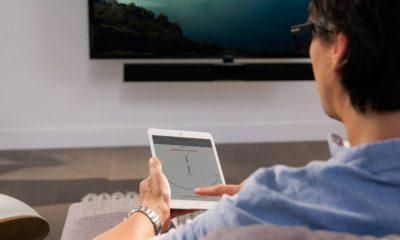 Vogels TV-Halterung mit App