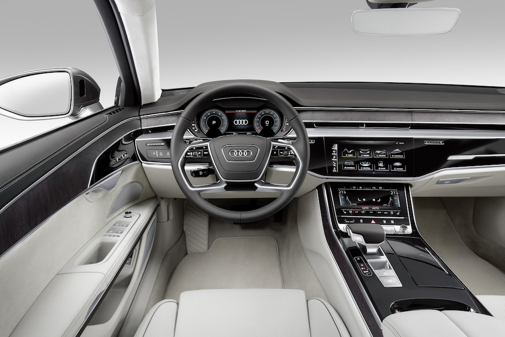 Audi A8 2017: Connected Superstar - Cockpit